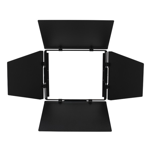 LDR Rima 4-Leaf Barn Door, Black