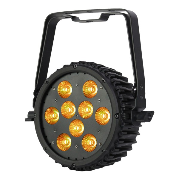 eLumen8 LED Intense 9P10 RGBAW LED Slim Par 9 x 10W Tri LEDs