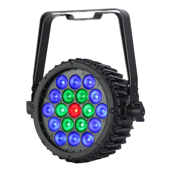 eLumen8 LED Intense 19T3 RGB LED Slim Par 19 x 3W Tri LEDs