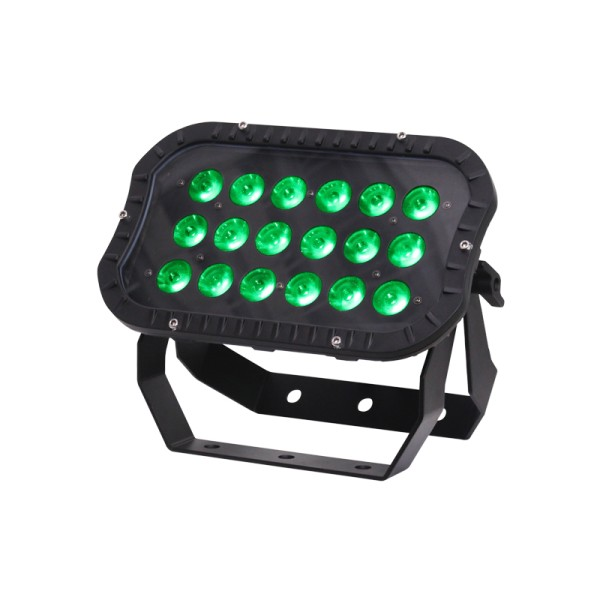 LEDJ Spectra Flood 18T3 Exterior Fixture IP66 Rated 18 x 3W Tri LEDs