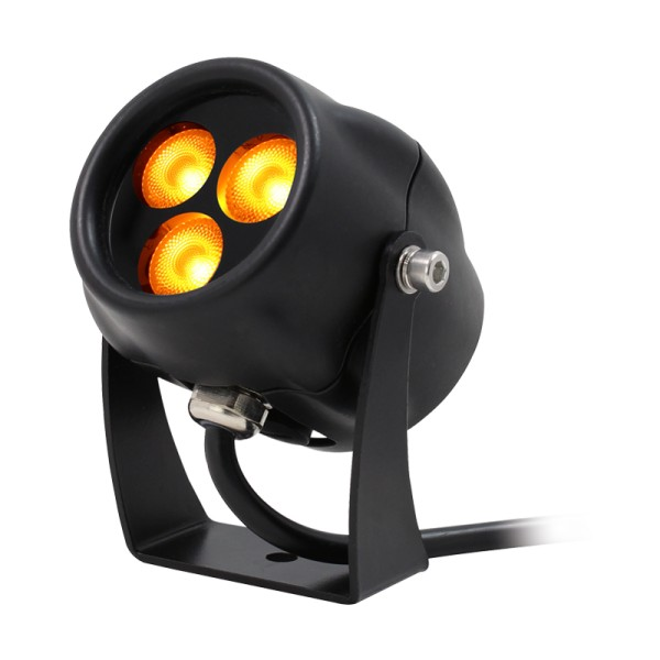 LEDj Aspect Exterior 9W Amber Feature Light