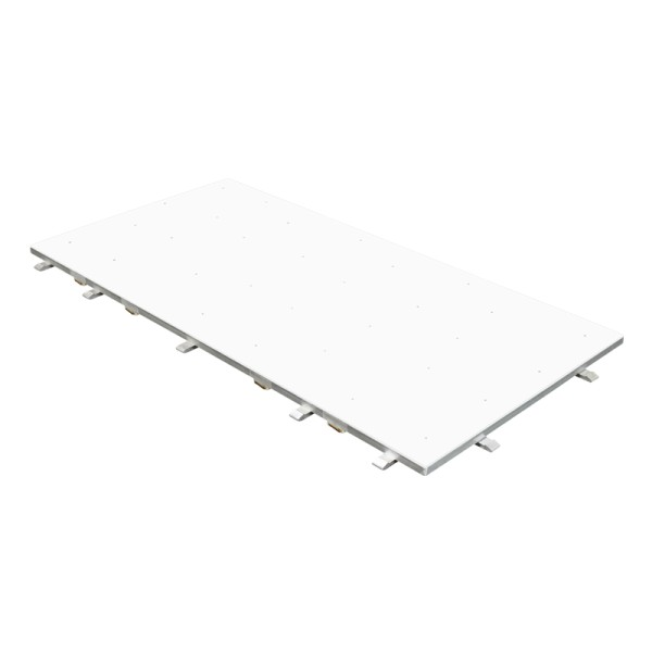 White Starlit 2ft x 4ft Dance Floor Panel