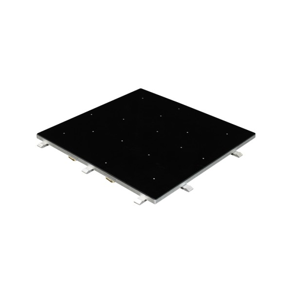 Black Starlit 2ft x 2ft Dance Floor Panel (3 sided)