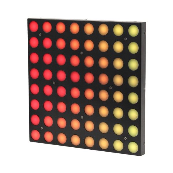 LEDj Display Panel 300x300mm with 64 tri-colour LEDs