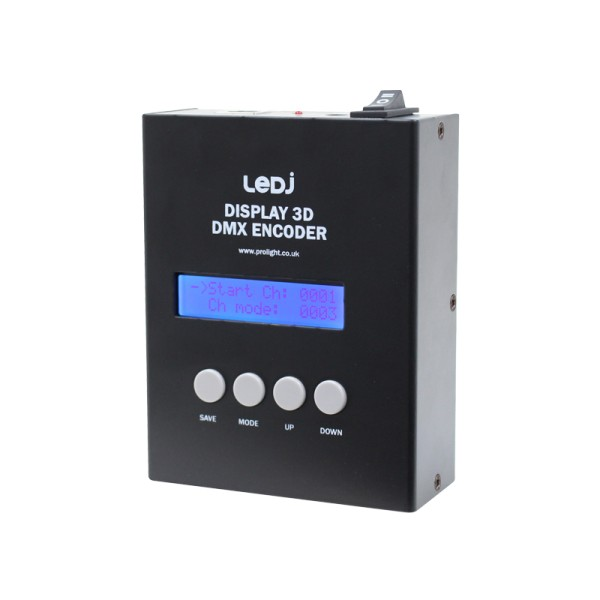 LEDJ Display 3D DMX Encoder