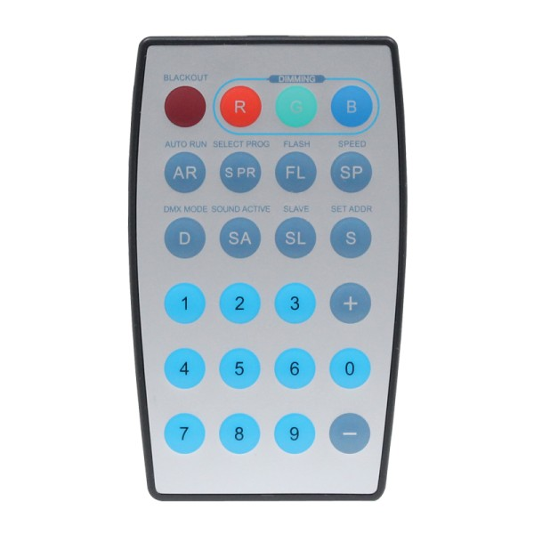 LEDJ Infra Red Remote for Spectra Flood & Spectra Par