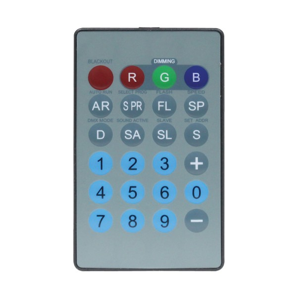 LEDJ Infra Red Remote for LEDJ76/76B/76C