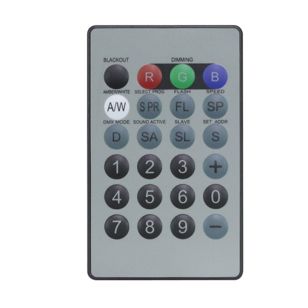 LEDJ Infra Red I.R Remote For LEDJ Quad Colour Fixtures