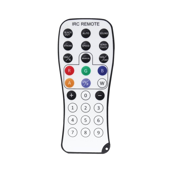 LEDJ IR Remote for Various Fixtures