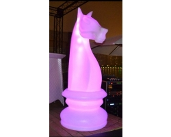 LED Knight Chess Piece