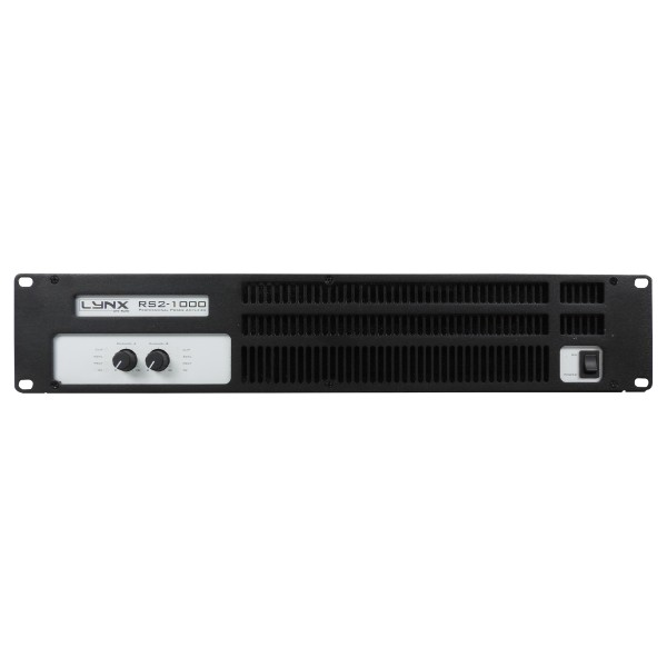 Lynx RS2-1000 2x 400W Power Amplifier