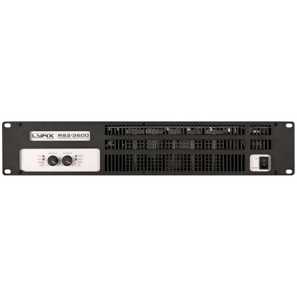 Lynx RS2-3600 2x 1750W Power Amplifier