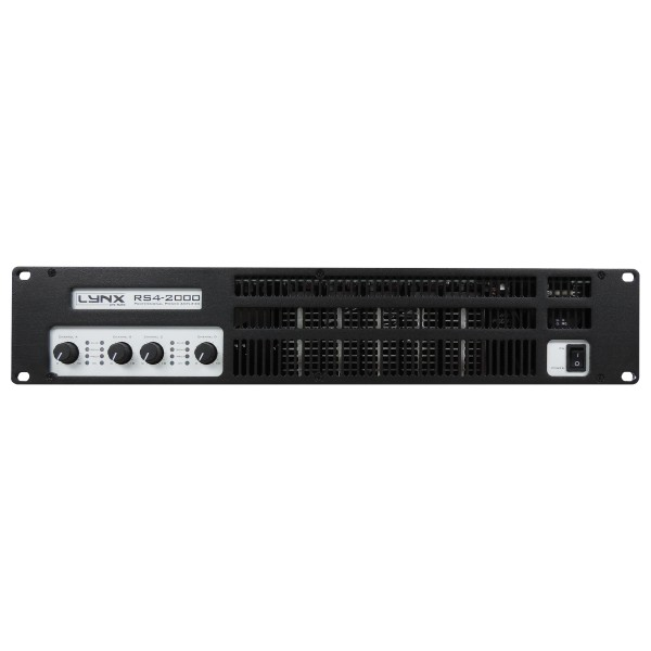 Lynx RS4-2000 4x 400W Power Amplifier