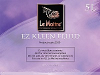 Le Maitre EZ Clean Maintenance Fluid (5 Litre)