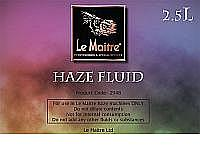 Le Maitre Haze Fluid for Neutron & MVS (4 x 2.5 Litre)
