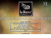 Le Maitre Quick Dissipating Haze Fluid (4 x 2.5 Litre)