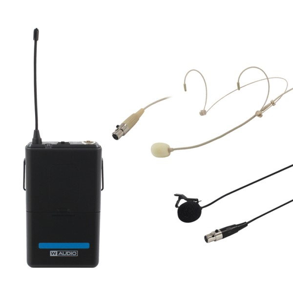 W Audio RM Quartet Beltpack Kit (863.42Mhz)