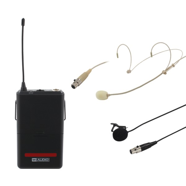 W Audio RM Quartet Beltpack Kit (864.99Mhz)