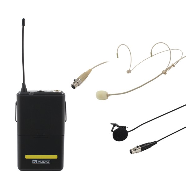 W Audio RM Quartet Beltpack Kit (863.01Mhz)
