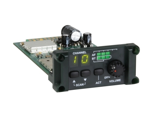 MiPro MRM-24 ACT 2.4 GHz Diversity Plug-in Single Receiver Module