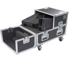 Nexo Flight Case for 2 x 45N12 Wedge Monitors