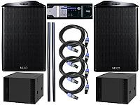 Nexo 2 x PS15 R2, 2 x LS18, NX4x4 System Package