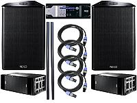 Nexo 2 x PS15 R2, 2 x RS18, NX4x4 System Package