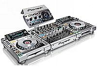 Pioneer Mixers and CD Players