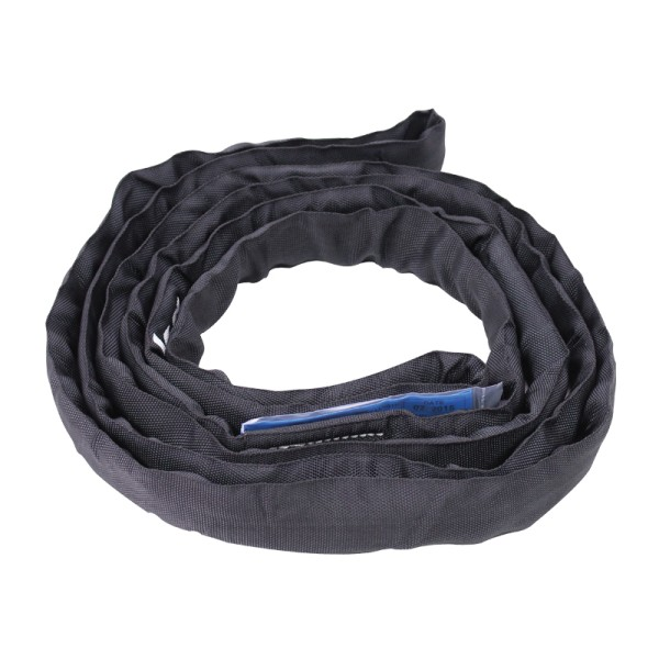 Black Round Sling 1 Ton WLL, Working Length 3m
