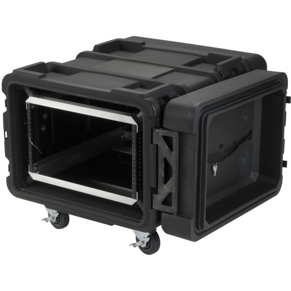 SKB 6U Roto Shockmount Rack Case - 24