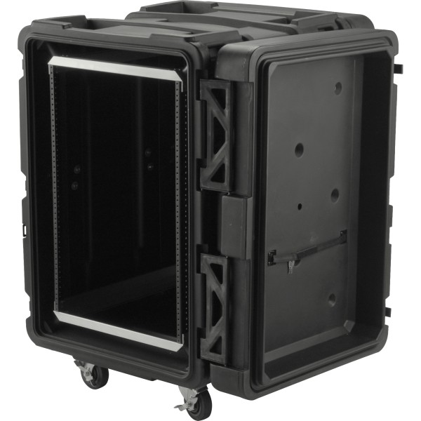 SKB 16U Roto Shockmount Rack Case - 24
