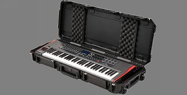 SKB iSeries 4214-KBD Waterproof 61 Note Keyboard Case