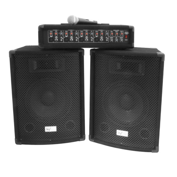 W Audio Gig Rig Perfomer 200W PA Package