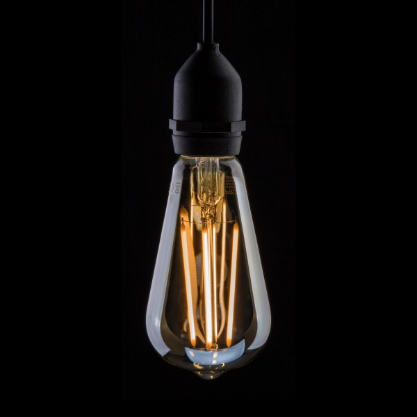 Prolite 4W Dimmable LED ST64 Gold Filament Lamp 2200K ES
