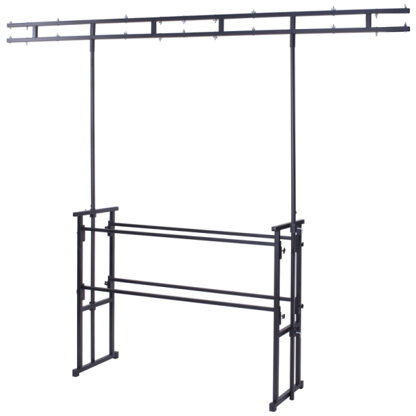 Equinox Twin Bar 4' Pro Disco Stand