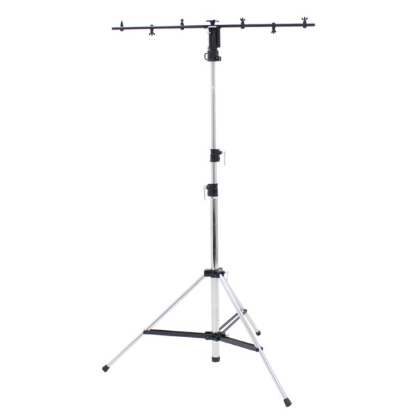 Rhino 3 Section Chrome Light Stand