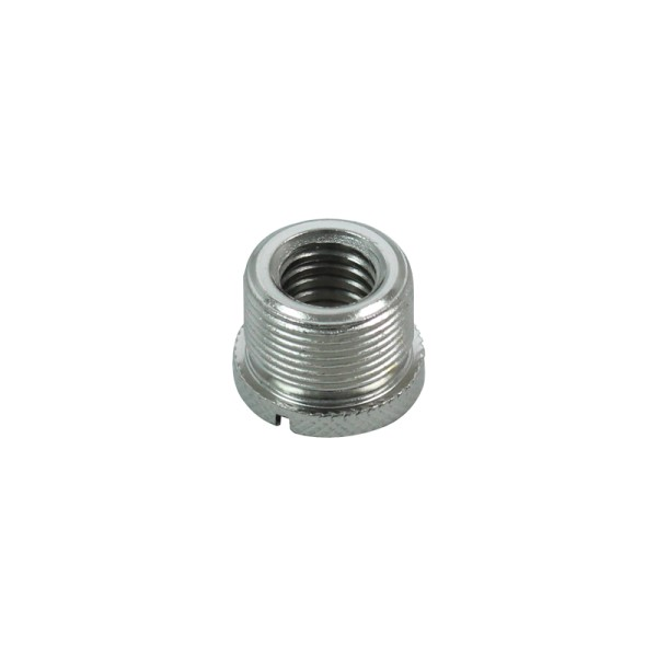 3/8 inch Female to 5/8 inch Male Microphone Thread Adaptor, Knurled