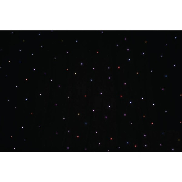 LEDJ Tri Pro 6 x 3M Additional Star Cloth