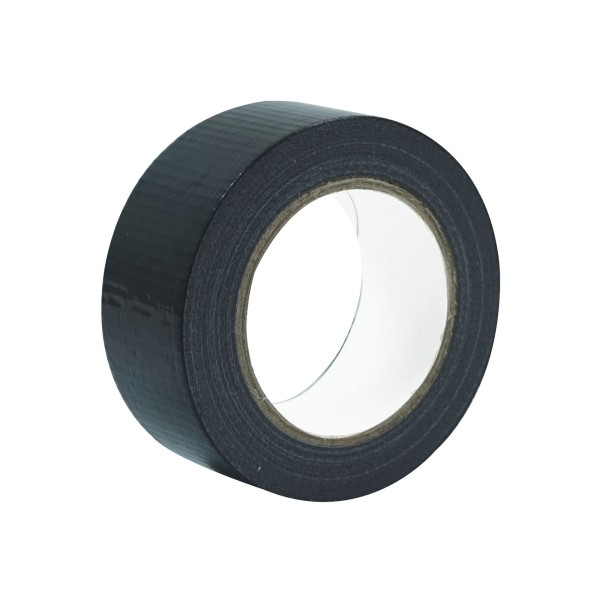 eLumen8 Economy Cloth Gaffer Tape 48mm x 50m - Black