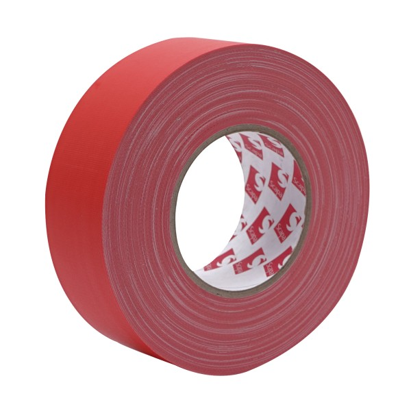 eLumen8 Premium Matt Cloth Gaffer Tape 3130 48mm x 50m - Red