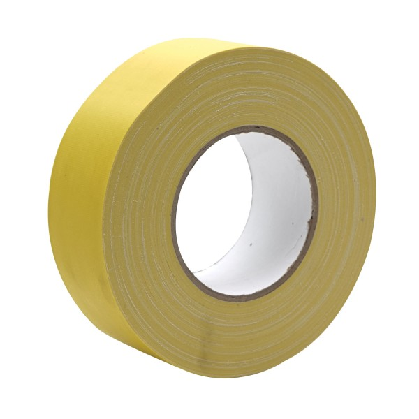 eLumen8 Premium Matt Cloth Gaffer Tape 3130 48mm x 50m - Yellow