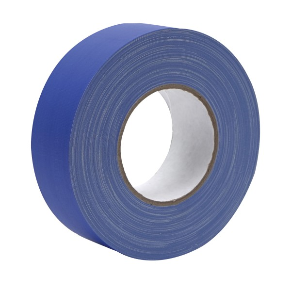 eLumen8 Premium Matt Cloth Gaffer Tape 3130 50mm x 50m - Blue (Chroma Key)