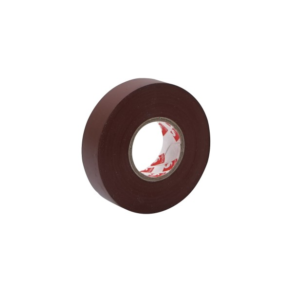 eLumen8 Premium PVC Insulation Tape 2702 19mm x 33m - Brown