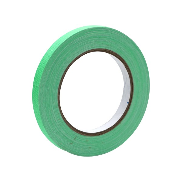 eLumen8 Fluorescent Cloth Gaffer Tape 3170 12mm x 23m - Green