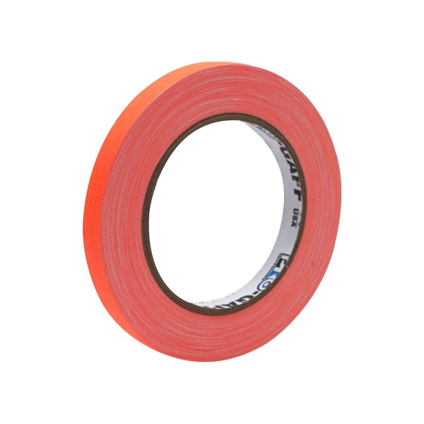 eLumen8 Fluorescent Cloth Gaffer Tape 3170 12mm x 23m - Orange