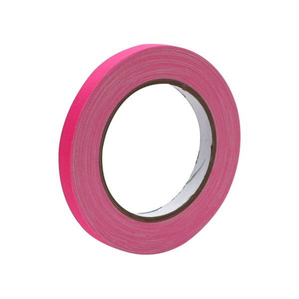 eLumen8 Fluorescent Cloth Gaffer Tape 3170 12mm x 23m - Pink