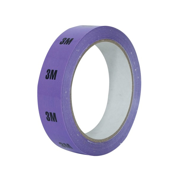 eLumen8 Cable Length ID Tape 24mm x 33m - 3m Lilac