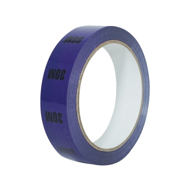 eLumen8 Cable Length ID Tape 24mm x 33m - 30m Purple