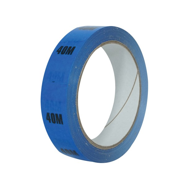 eLumen8 Cable Length ID Tape 24mm x 33m - 40m Blue