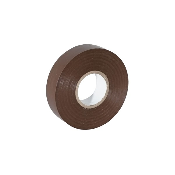 eLumen8 Economy PVC Insulation Tape 19mm x 33m - Brown